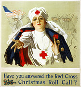 1918 Art - RED CROSS POSTER, c1918 by Granger
