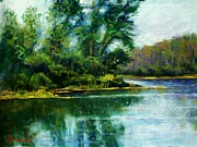 Etc.. Pastels - Reflections by Bruce Schrader