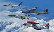 Phantom Digital Art - Refuel over Alaska by Dale Jackson