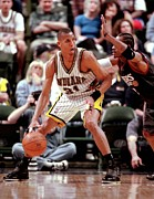 Pacers Photo Prints - Reggie Miller Poster Print by Sanely Great