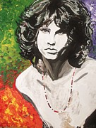 Jim Morrison Prints - Rider On The Storm Print by Jeremy Moore