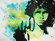 Jim Morrison Prints - Riders on the Storm Print by Bitten Kari
