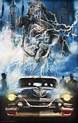 Cadillac Digital Art - Riders On The Storm by Larry Butterworth
