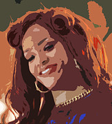 Rihanna Art - Rihanna by Kevin Barron