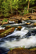 Cascading Water Photos - River rapids by Elena Elisseeva