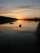 Joe Cashin Posters - River Suir sunset Poster by Joe Cashin