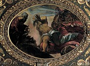 Jonah Metal Prints - Robusti Jacopo Known As Tintoretto Metal Print by Everett