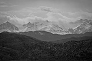 Black Photographs Prints - Rocky Mountains  Print by Torkomian Photography