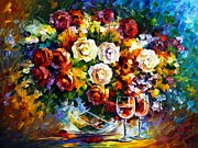 Leonid Afremov - Roses And Wine
