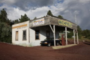 Lodging - Route 66 Filling Station by Frank Romeo