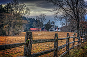Fence Art - Rural America by Everet Regal