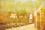 Great Painting Prints - Saidpur Village Print by Catf