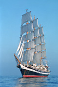 Sailing Photos - Sailing ship by Anonymous