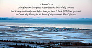 Scripture Verse Framed Prints - 2 Samuel chapter 7 verse 29 Framed Print by Arlene Rhoda Nanouk