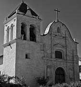 Mission Church Framed Prints - San Carlos Cathedral Framed Print by Ron White