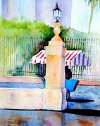 Street Rod Paintings - San Miguel de Allende Mexico  by Gail Sellers
