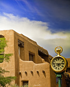 Adobe Prints - Santa Fe Time Print by Madeline Ellis