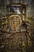 Old Automobile Prints - Schools Out Print by Erik Brede