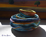 Featured Ceramics Originals - Seaside by Lina Stern