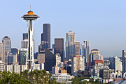Seattle Skyline Art - Seattle skyline. by Gino Rigucci