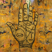 Palmistry Metal Prints - Secrets Revealed Metal Print by Julianne Hunter