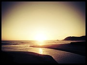 Western Cape Prints - Sedgefield Sunset Print by Neil Overy