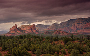 Sedona Prints - Sedona Red Rocks  Print by Saija  Lehtonen