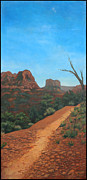 Edward Williams Art - Sedona Trail by Edward Williams