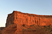 Sentinel Mesa Monument Valley Print by Christine Till