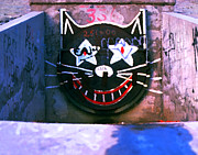 Cal State Prints - Sewer Cat Print by Ron Regalado