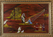 Nativity Paintings - Silent Night by Margaret Pappas
