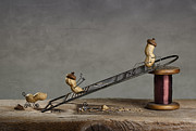 Miniature Photos - Simple Things - Sliding Down by Nailia Schwarz