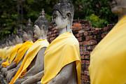 Fototrav Print - Sitting Buddhas