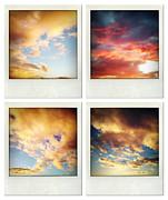 Skies Print by Les Cunliffe