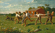 Famous Artists - Snap the Whip by Winslow Homer