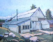 Nederland Prints - Snyders Garage Print by Al Hart
