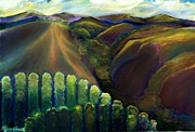 Sonoma County Painting Prints - Sonoma Hills Print by Karen Trout