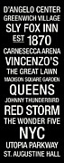 Madison Square Garden Prints - St. Johns College Town Wall Art Print by Replay Photos
