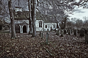 St Margaret Photo Prints - St Margaret of Antiochs Church Linstead Print by Darren Burroughs