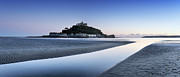 Cathedral Rock Photos - St Michaels Mount in Cornwall by Helen Hotson
