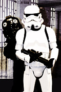 Postcard Originals - Star Wars Stormtrooper  by Tommy Hammarsten