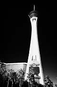 Stratosphere Prints - statosphere hotel tower and casino Las Vegas Nevada USA Print by Joe Fox