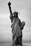 American Independance Photo Metal Prints - Statue of Liberty national monument liberty island new york city Metal Print by Joe Fox