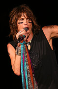 Steven Tyler Photos - Steven Tyler AEROSMITH by Don Olea