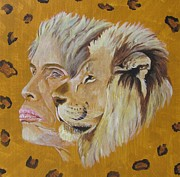 Leopard Print Paintings - Steven Tyler  by Jeepee Aero