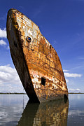 Old Shipwreck Photos - Still Proud by Lusoimages