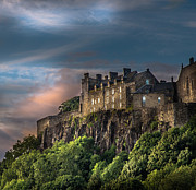 Princes Framed Prints - Stirling Castle at Sunset Framed Print by Tylie Duff