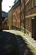 Cobblestone Prints - Stockholm Sweden Print by Micah May