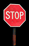 Traffic Control Posters - Stop sign Poster by Luis Santos