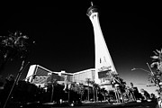 Stratosphere Prints - stratosphere hotel tower and casino Las Vegas Nevada USA Print by Joe Fox